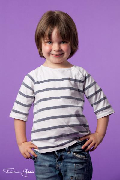 photo d'enfant en studio