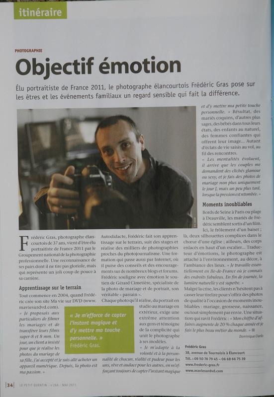 portraitiste de France 2011