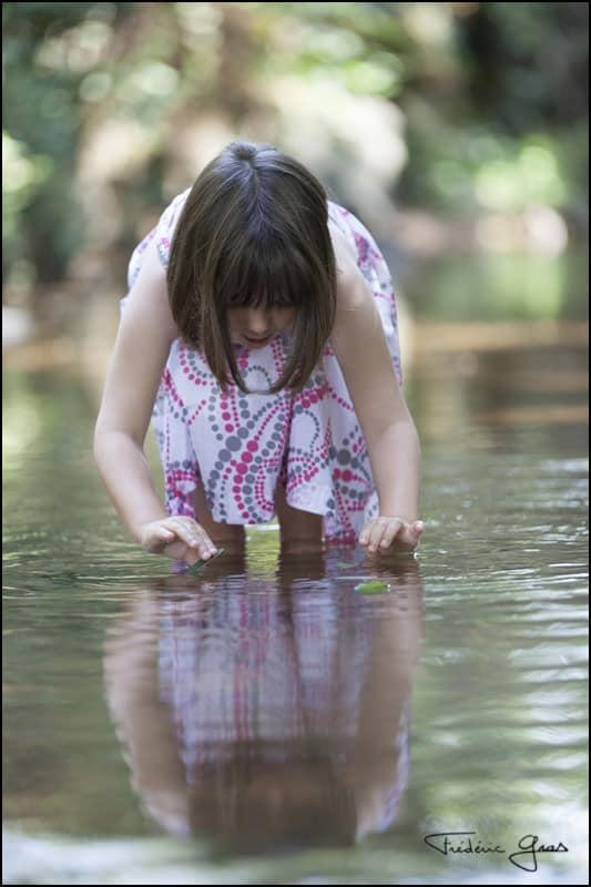 photographe enfant riviere