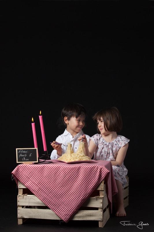 couple d'enfant