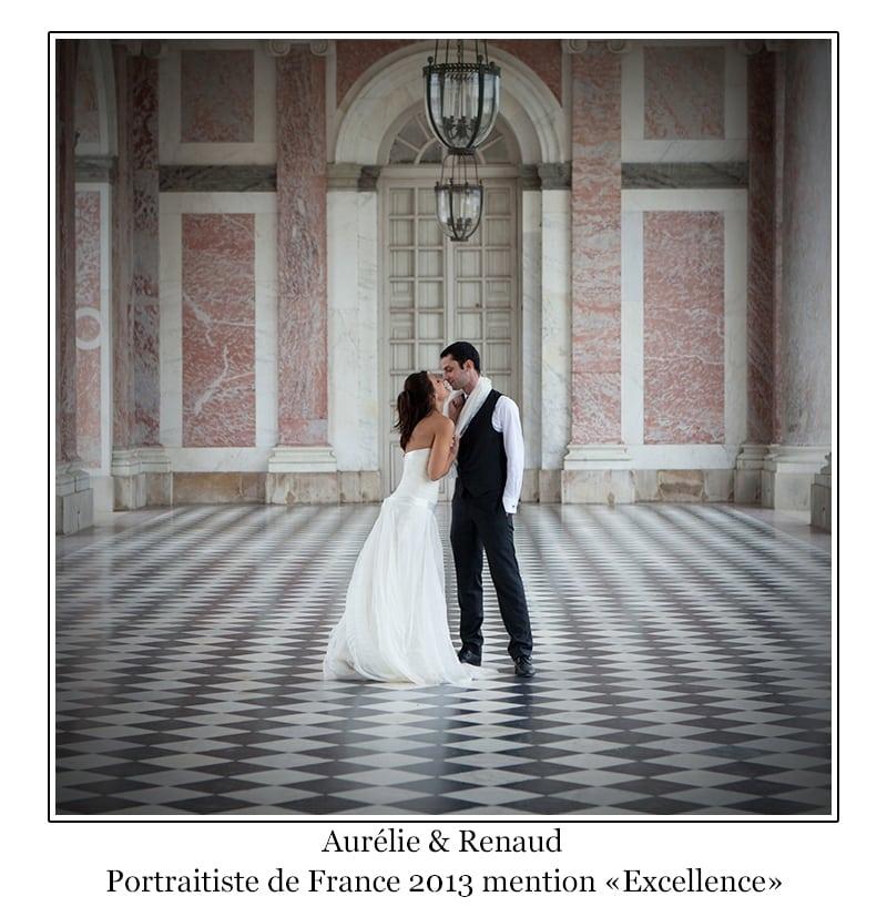 photo mariés chateau de versailles