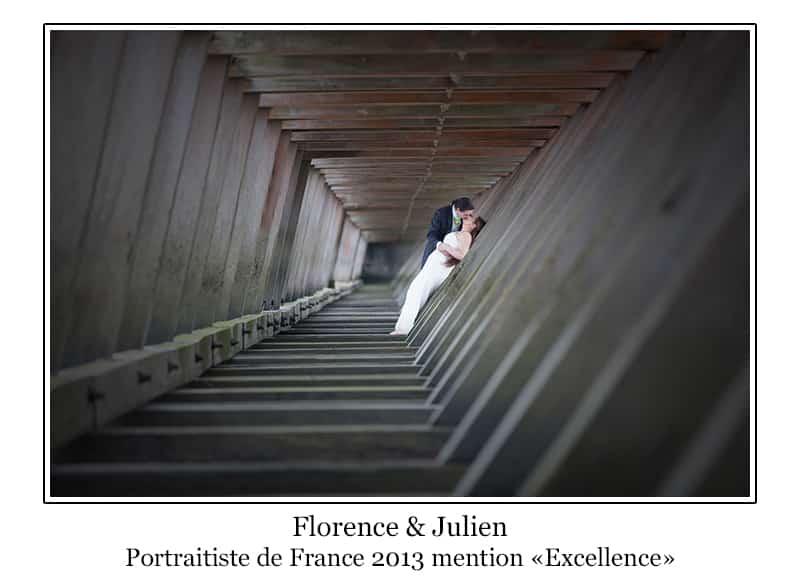 photo de mariés Deauville