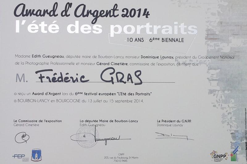 award d'argent
