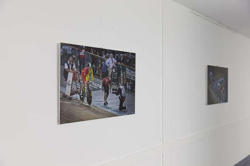 Photo exposés au velodrome