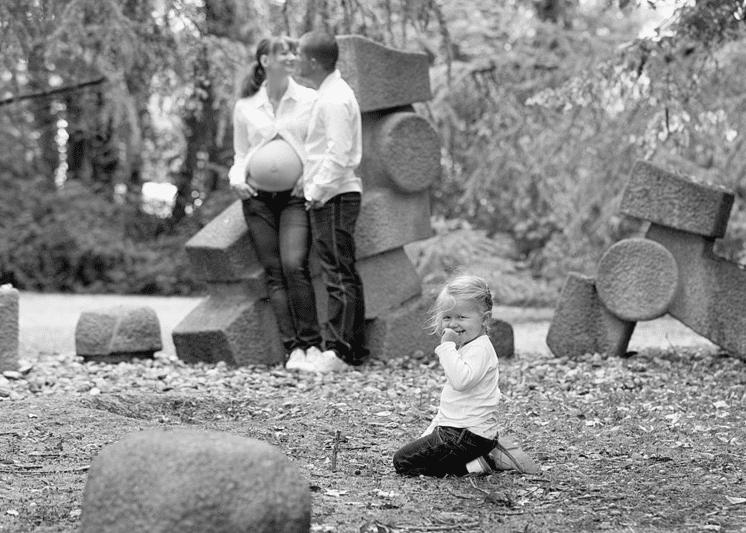 Photographe de grossesse en extérieur dans les Yvelines