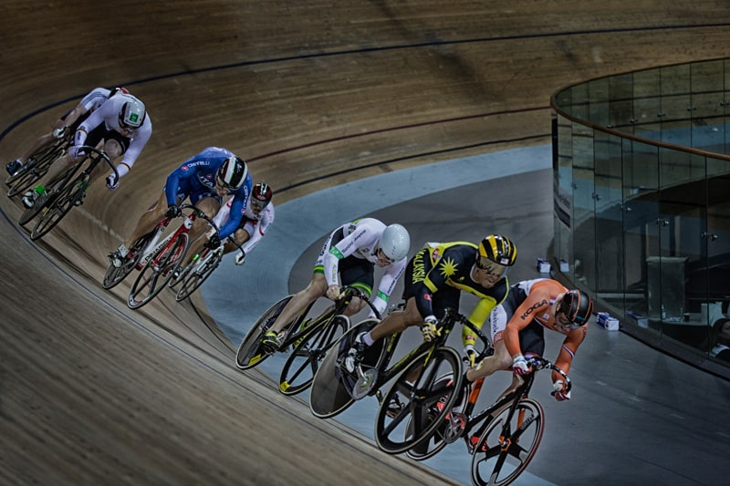 Kerin au velodrome national