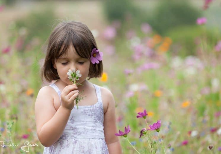 photo enfant en extérieur
