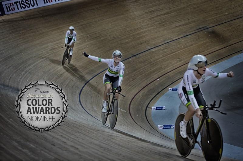 equipe d'australie femme sur piste