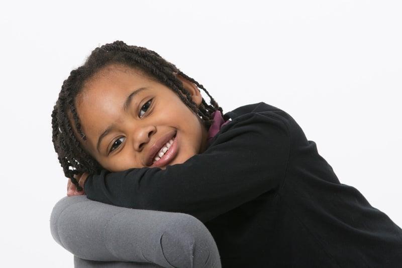 photo enfant souriant