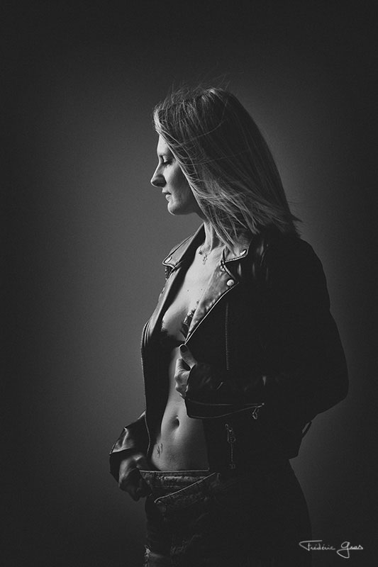 photo lingerie en studio