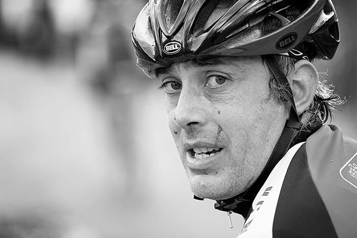 portrait cycliste